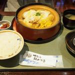 69190694 - 豆腐かつ煮定食