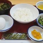 塩屋町食堂 - 朝定食360円