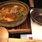 名古屋名物 名古屋丸八食堂 - 味噌煮込みきしめん