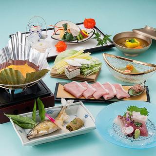 [7・8月のおすすめ]島根の旬を味わうランチ「浮橋膳」
