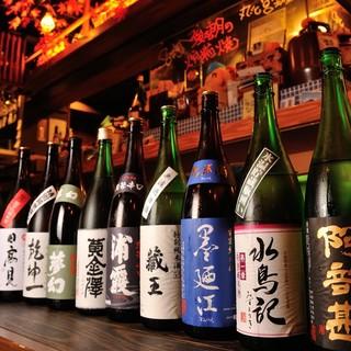 ◇日本酒にこだわり◇地元食材には地酒が一番◎