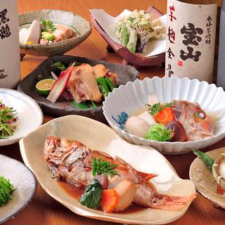 <料理へのこだわり>カジュアルに日本料理を堪能