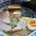 梅軒 - 塩チャーシューメン850円