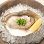 六本木 大友 - 岩牡蠣(徳島県産)※時期により変更となります。
