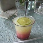 ザ テラス - ☆ドリンクがグレープフルーツ&クランベリーの2層が素敵です☆