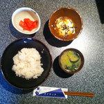 リバーサイドライラック - 料理写真:麦とろ定食 500円