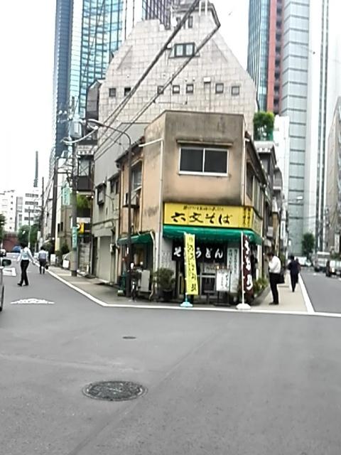 六文そば 須田町店 - 遠景
