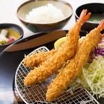 すずや - 大海老フライ定食