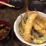 横浜 天ぷらめし 天丼 きわみ - 天丼。