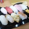 海人 - 料理写真:1200円(税抜)の握り