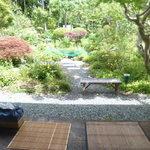 和洋食道 Ecru - 席から眺める縁側とお庭