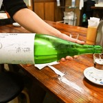 うどん蔵ふじたや - 日本酒(東洋美人)
