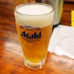 うどん蔵ふじたや - 生ビール