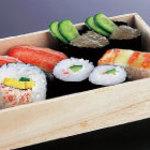 かに道楽 - かに寿司盛合せ折