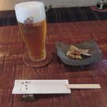 69209780 - 生ビール・お通し