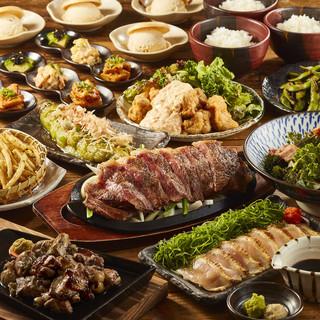 【ご宴会】各種コースは飲み放題付で3980円より