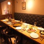 ElTragón - 食事会にはコースメニューアレンジします。
