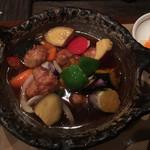 たんぽぽ家 - 野菜たっぷり里豚・酢豚