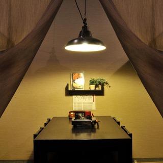 和を基調としたモダンな半個室で、ゆったりとくつろぐ幸せ