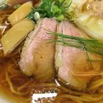 ラーメン ドゥエ エド ジャパン - 鴨肉