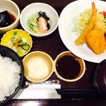 天ぷら壹鐡 米蔵 - ミックスフライセット 860円