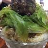 あんこ椿 - ドリンク写真:宇治金時。抹茶を点てて作るカキ氷、手づくり