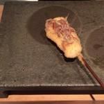 串揚げ 依知川 - 真鯛とみょうが
