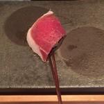 串揚げ 依知川 - 生ハムとチーズ