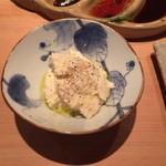 串揚げ 依知川 - おぼろ豆腐