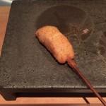 串揚げ 依知川 - 太刀魚
