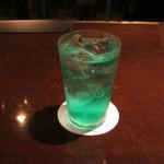 酒向Bar - 「エメラルドクーラー」です。