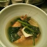 中国料理 「唐宮」  - 活け車えびの酔っ払い海老