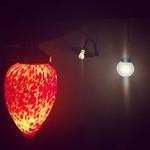 鉄板屋 どらんく - 照明もアンティーク調で可愛いんですよ^ ^