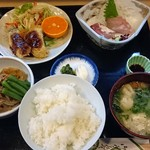 Komatsu - 和風日替り御膳800円