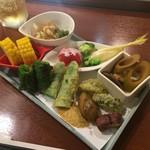 博多 竜の字 - 名物 糸島野菜の色々盛り合わせ