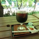 茶寮 風花 - アイスコーヒー