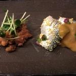 Tazawa - 鯛の子とコハダ酢締め味噌和え