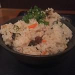 まーちゃん食堂 - ソーキそば定食960円ジューシー