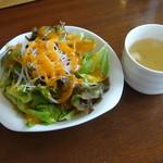 Gurumefuugetsu - サラダ&スープ