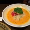 ワンカルビ - 料理写真:濃厚トマトウニクリーム冷麺