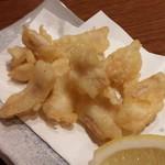 藁焼き鰹たたき明神丸 - マンボウの天ぷら
