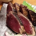 藁焼き鰹たたき明神丸 - 藁焼き鰹タタキ これやきセット(塩)