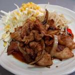 盛運亭 - 豚生姜焼き