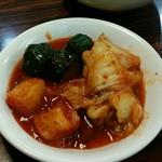 焼肉 和 - 食べ放題のキムチ