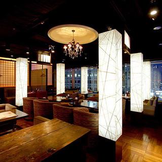 団体様も余裕の大型宴会個室は最大160名様で貸切もOK!
