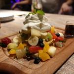 CORAL KITCHEN at sea - ☆甘くないパンケーキ!(^^)!☆