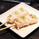 鶏天 - ささみわさび美味いd(^_^o)
