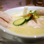 銀座 篝 - 鶏白湯SOBA 特製仕様