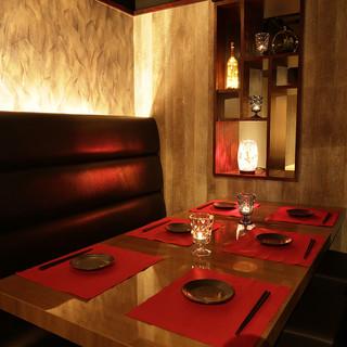 ◆個室饗宴・4つの空間・完全個室×VIP個室:2~40名◆