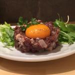 69235498 - 桜肉のタルタルステーキ
